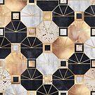 Art Deco Octagons by Elisabeth Fredriksson