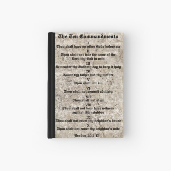 Rules to Live By Hardcover Journal