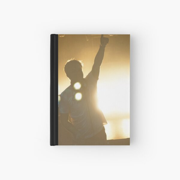 Pointing up to the heavens Hardcover Journal