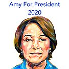 Klobuchar for President by TL Duryea
