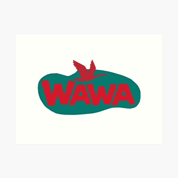 Wildwood Retro Wawa Sign Art Print