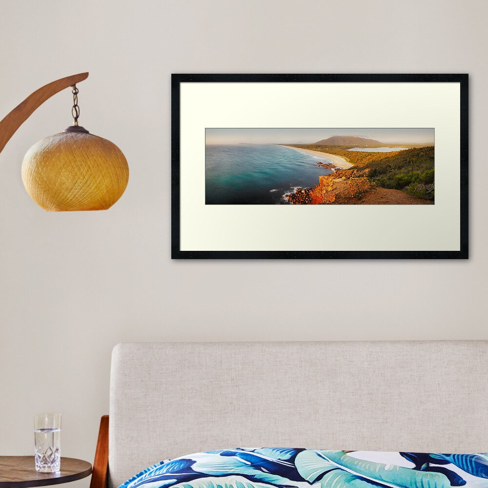 Kattang Nature Reserve, Port Macquarie, New South Wales, Australia Framed Art Print