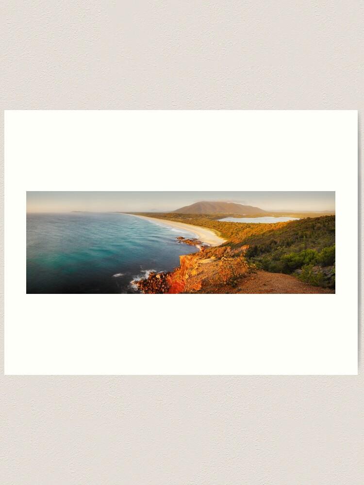 Alternate view of Kattang Nature Reserve, Port Macquarie, New South Wales, Australia Art Print