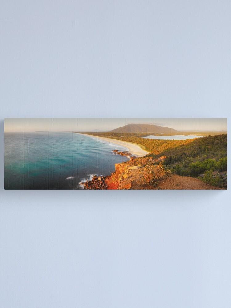Alternate view of Kattang Nature Reserve, Port Macquarie, New South Wales, Australia Canvas Print