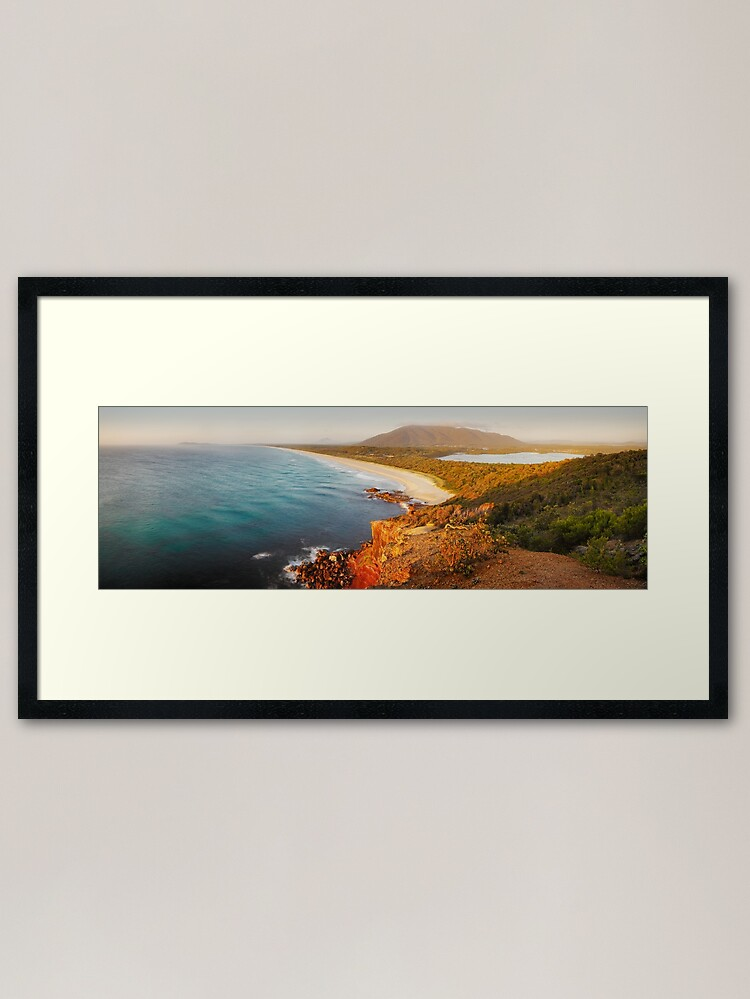 Alternate view of Kattang Nature Reserve, Port Macquarie, New South Wales, Australia Framed Art Print
