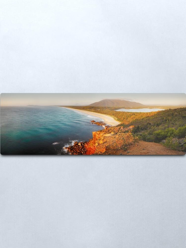 Alternate view of Kattang Nature Reserve, Port Macquarie, New South Wales, Australia Metal Print