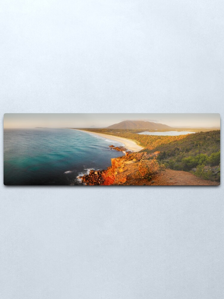 Alternate view of Kattang Nature Reserve, Port Macquarie, New South Wales, Australia Metal Print
