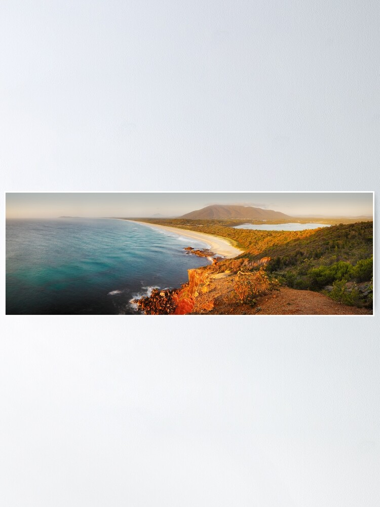 Alternate view of Kattang Nature Reserve, Port Macquarie, New South Wales, Australia Poster