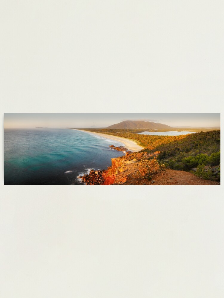Alternate view of Kattang Nature Reserve, Port Macquarie, New South Wales, Australia Photographic Print