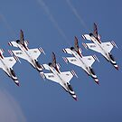 Thunderbirds:  Five In A Dive by tomryan