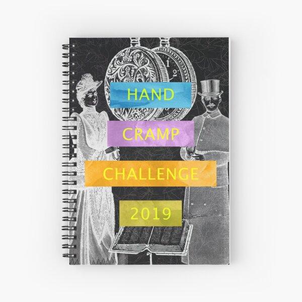 Hand Cramp Challenge 2019 Spiral Notebook