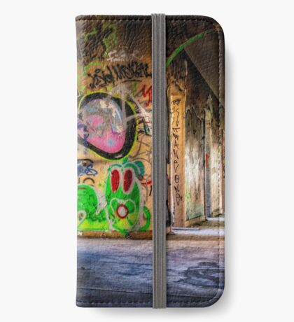 Abandoned Places Urban Graffiti iPhone Wallet