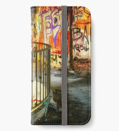 Abandoned Places Graffiti iPhone Wallet