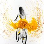 Mindful Bicycle Sun by Ashvin  Harrison
