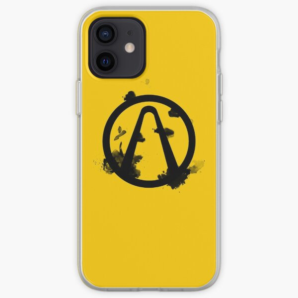 Vault Logo Black - Borderlands iPhone Soft Case