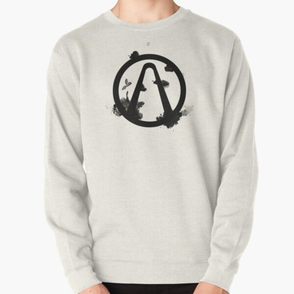 Vault Logo Black - Borderlands Pullover Sweatshirt