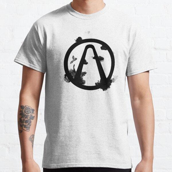 Vault Logo Black - Borderlands Classic T-Shirt