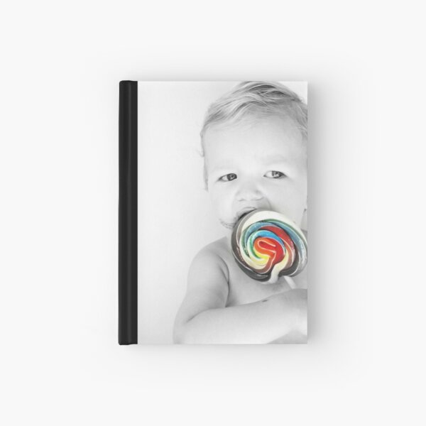 lolly matches summer Hardcover Journal