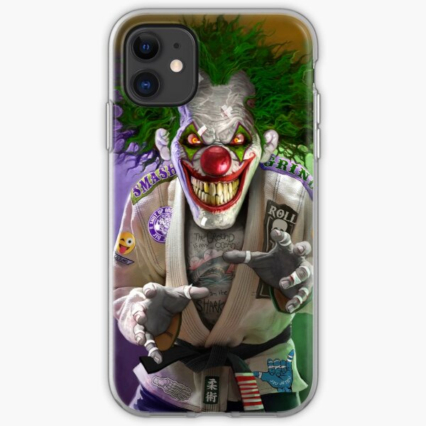 Heel Hooky the Evil Clown iPhone Soft Case
