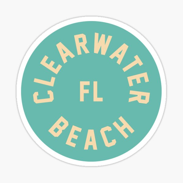 Clearwater - Florida Sticker