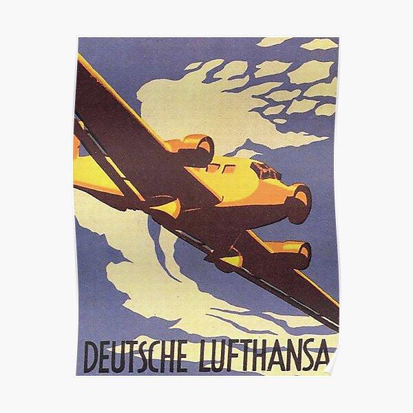 Lufthansa Junkers Ju52 Poster