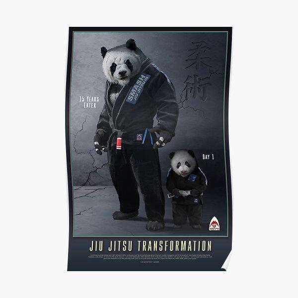Panda Transformation Poster