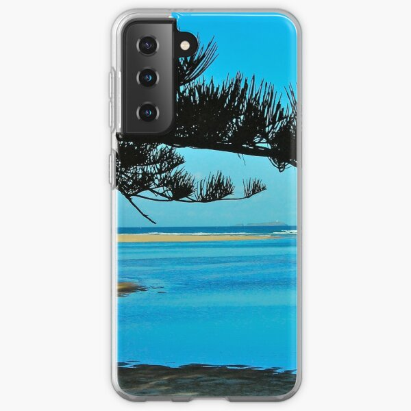 View to South Solitary Island Samsung Galaxy Soft Case