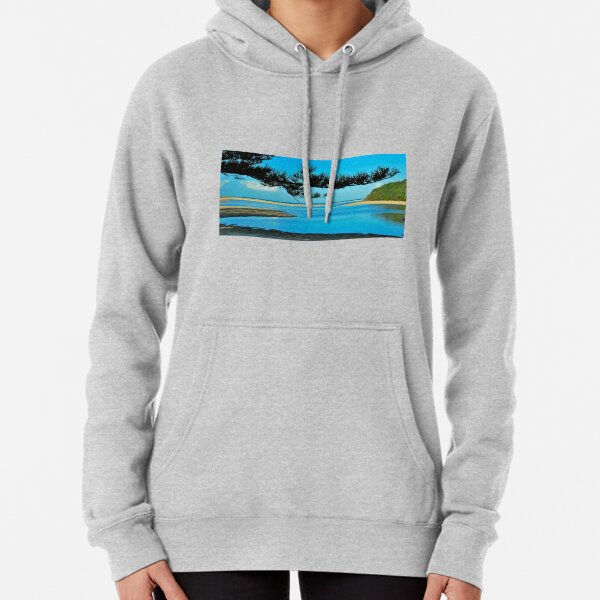View to South Solitary Island Pullover Hoodie