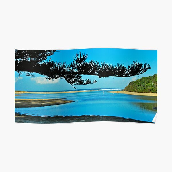 View to South Solitary Island Poster