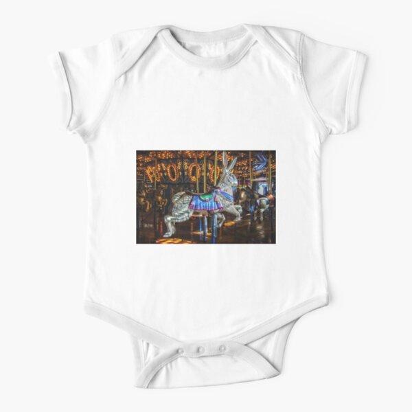 Run Rabbit Run Short Sleeve Baby One-Piece