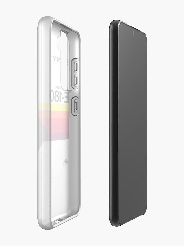 Alternate view of sony-dynamicron Case & Skin for Samsung Galaxy
