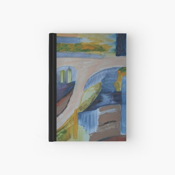 City Landscape: Ins and Outs of the City Hardcover Journal