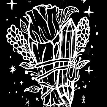 Verwischen Sie Witchy Cleansing, Crystal und Lavendel von lunaelizabeth