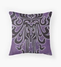 Cooridor of Doors - Haunted Mansion Wallpaper Throw Pillow