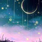 Mond Anime Galaxie von LunarAphelion