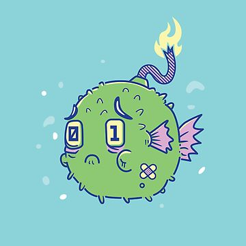 Self Destructive Blowfish by strangethingsA