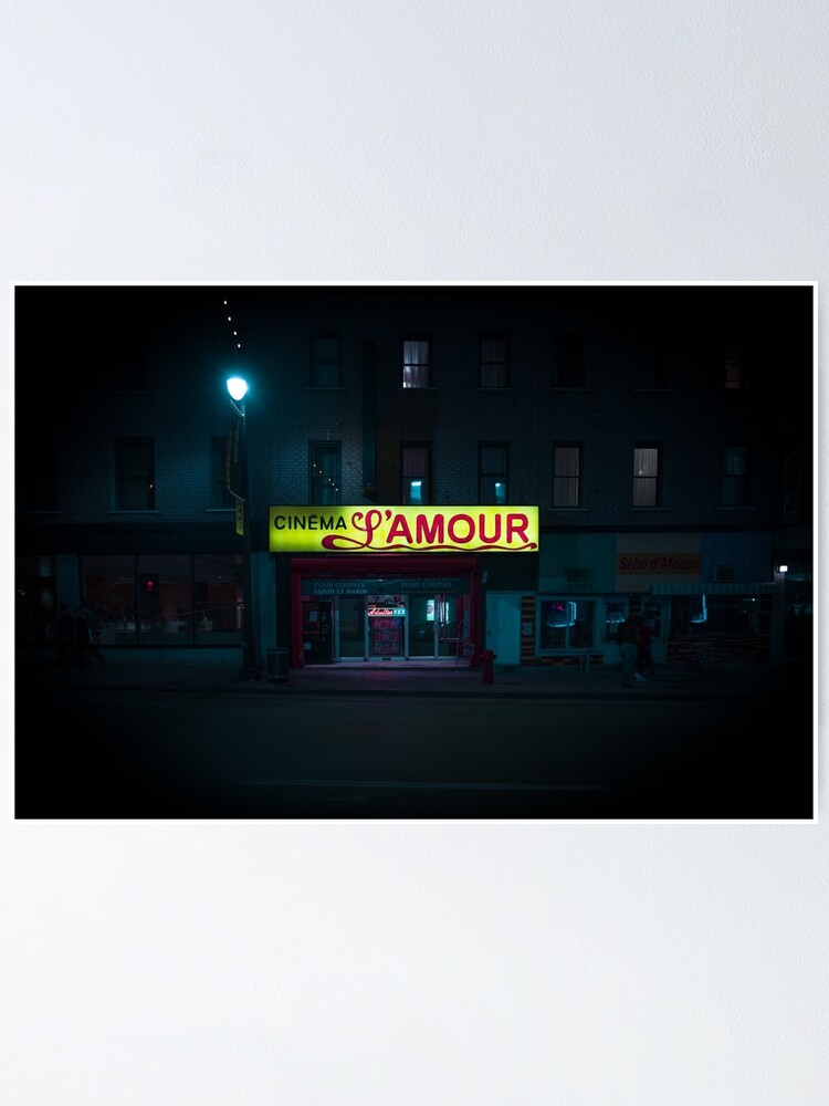 Alternate view of Cinéma L'AMOUR Poster