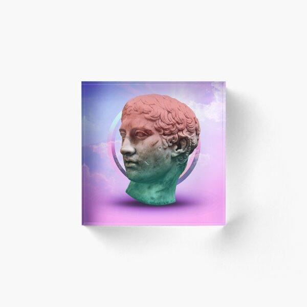 The Head of Joy Acrylic Block