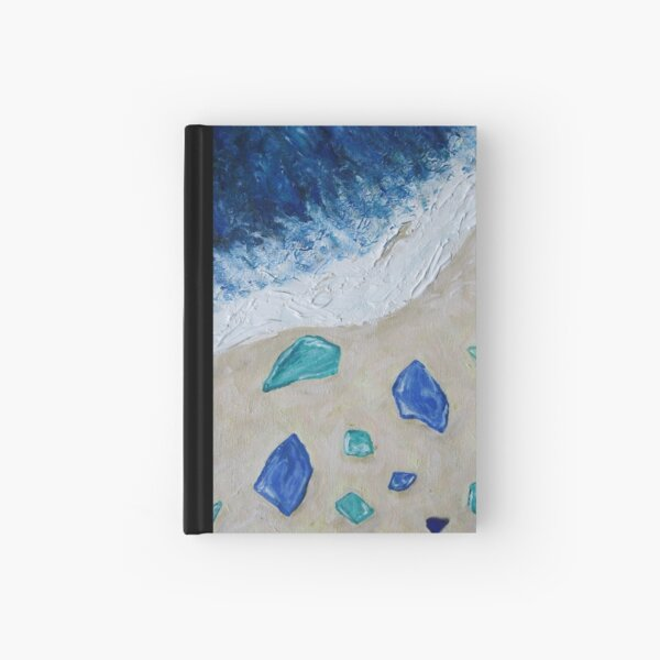 Sea Glass  Hardcover Journal