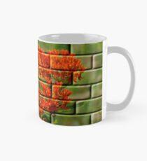 Orange Flowers Mug