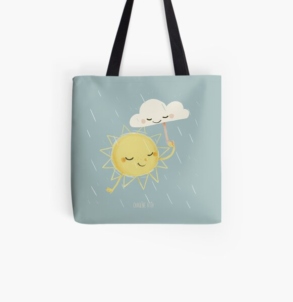 Little Sun Tote bag doublé
