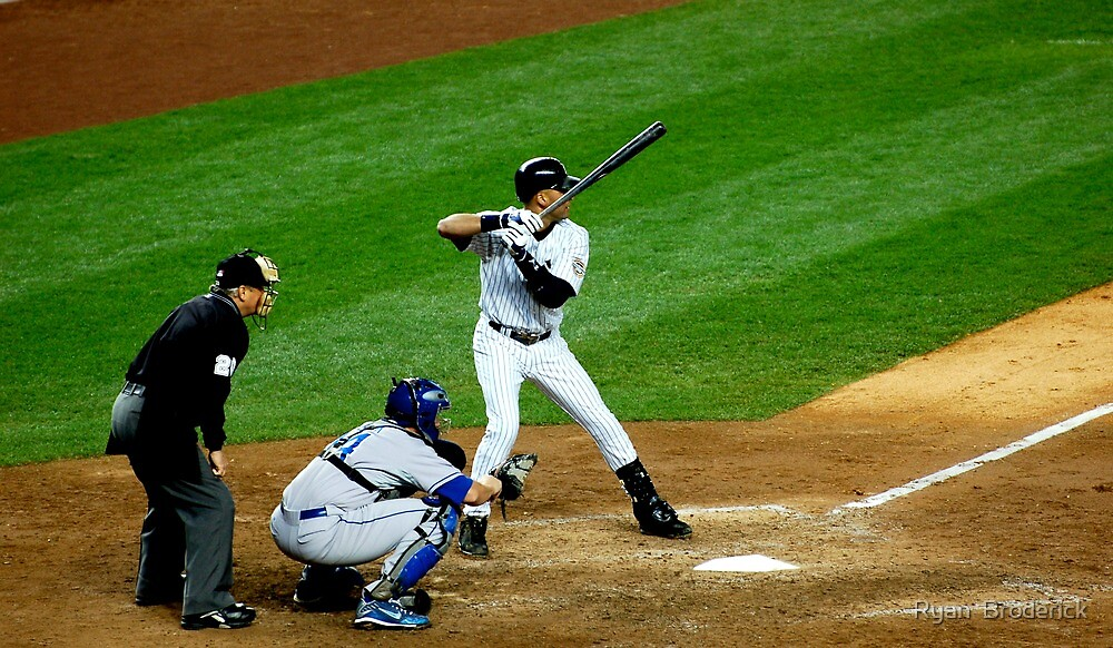 Derek Jeter Yankees by Ryan  Broderick
