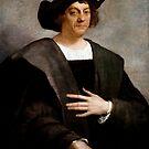 «Retrato de Cristóbal Colón - Sebastiano del Piombo - 1519» de warishellstore