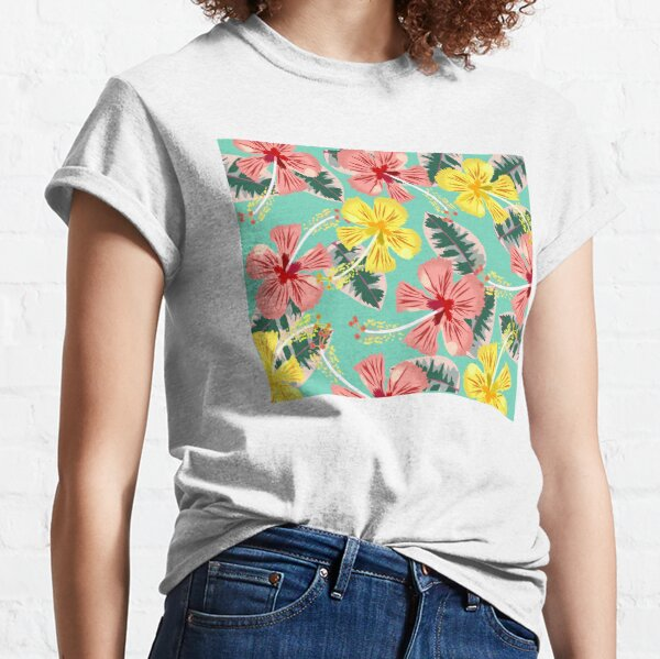 Tropical Hibiscus Classic T-Shirt