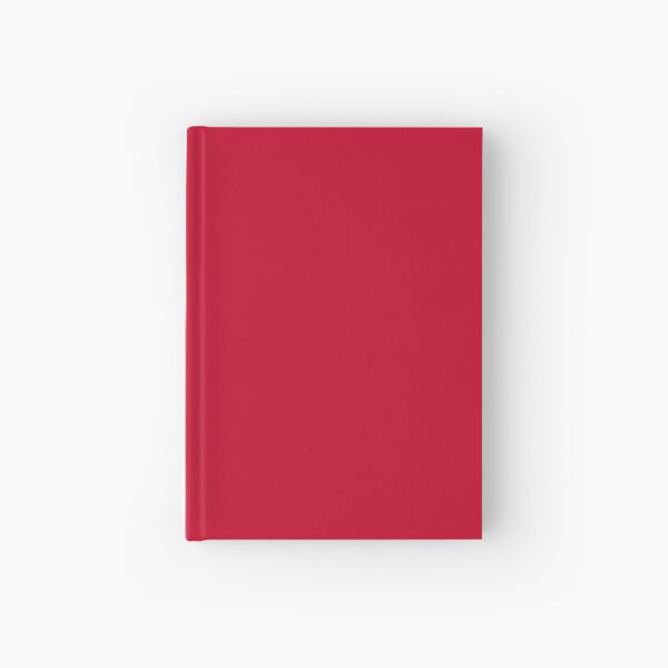 NEW YORK FASHION WEEK 2019- 2020 AUTUMN WINTER CHILLI PEPPER - RED Hardcover Journal