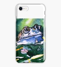 Looks ok to me - frog blue iPhone Case/Skin