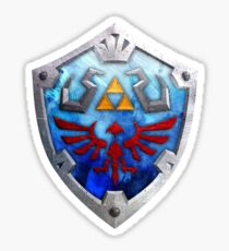 The Hylian Shield Sticker