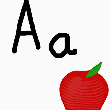 Aa for Apple by Whittles