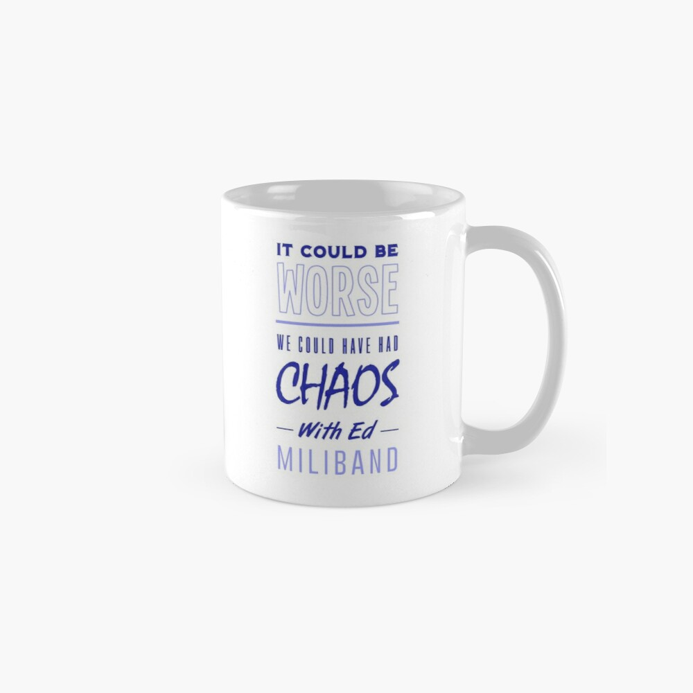 It Could Be Worse Classic Mug