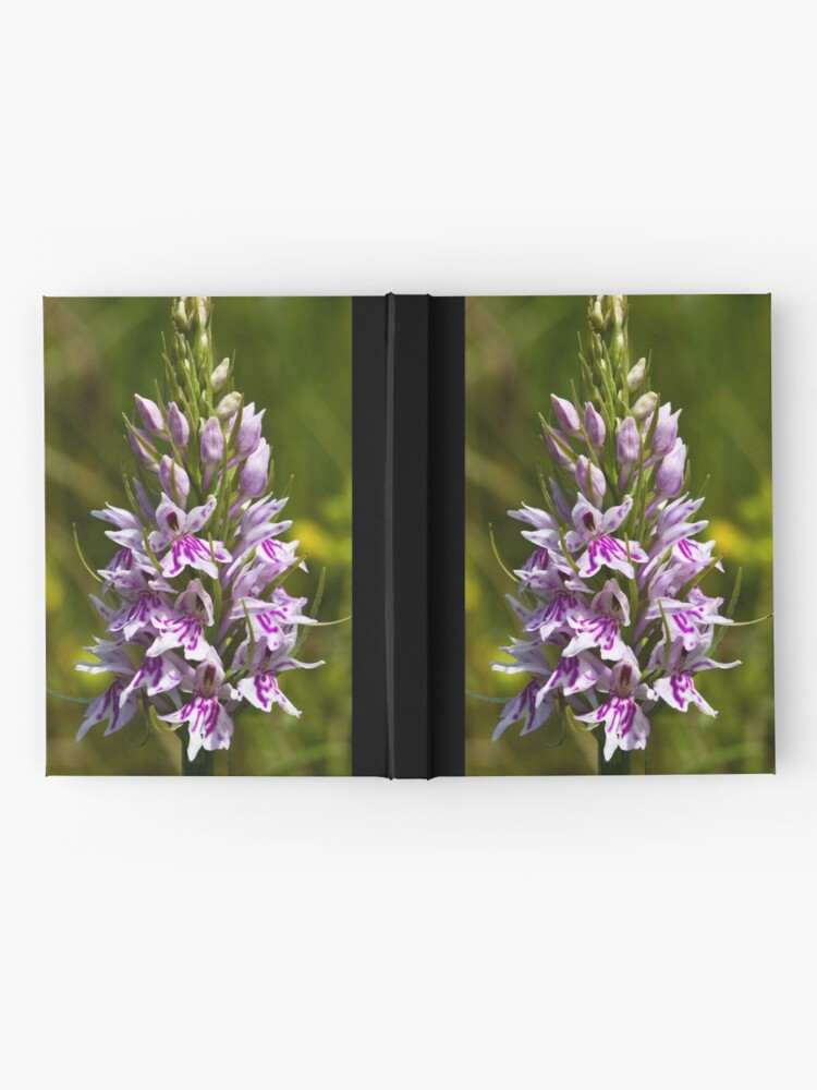 Alternate view of Common Spotted-orchid (Dactylorhiza fuchsii) Hardcover Journal